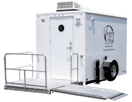 ADA Single Portable Restroom Trailer nice porta potty rental