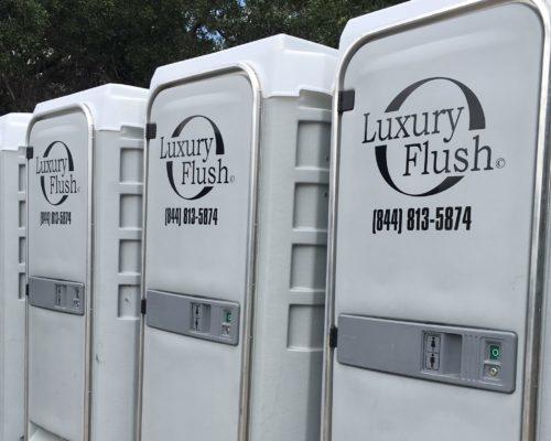 Flushable Porta John nice porta potty rental construction