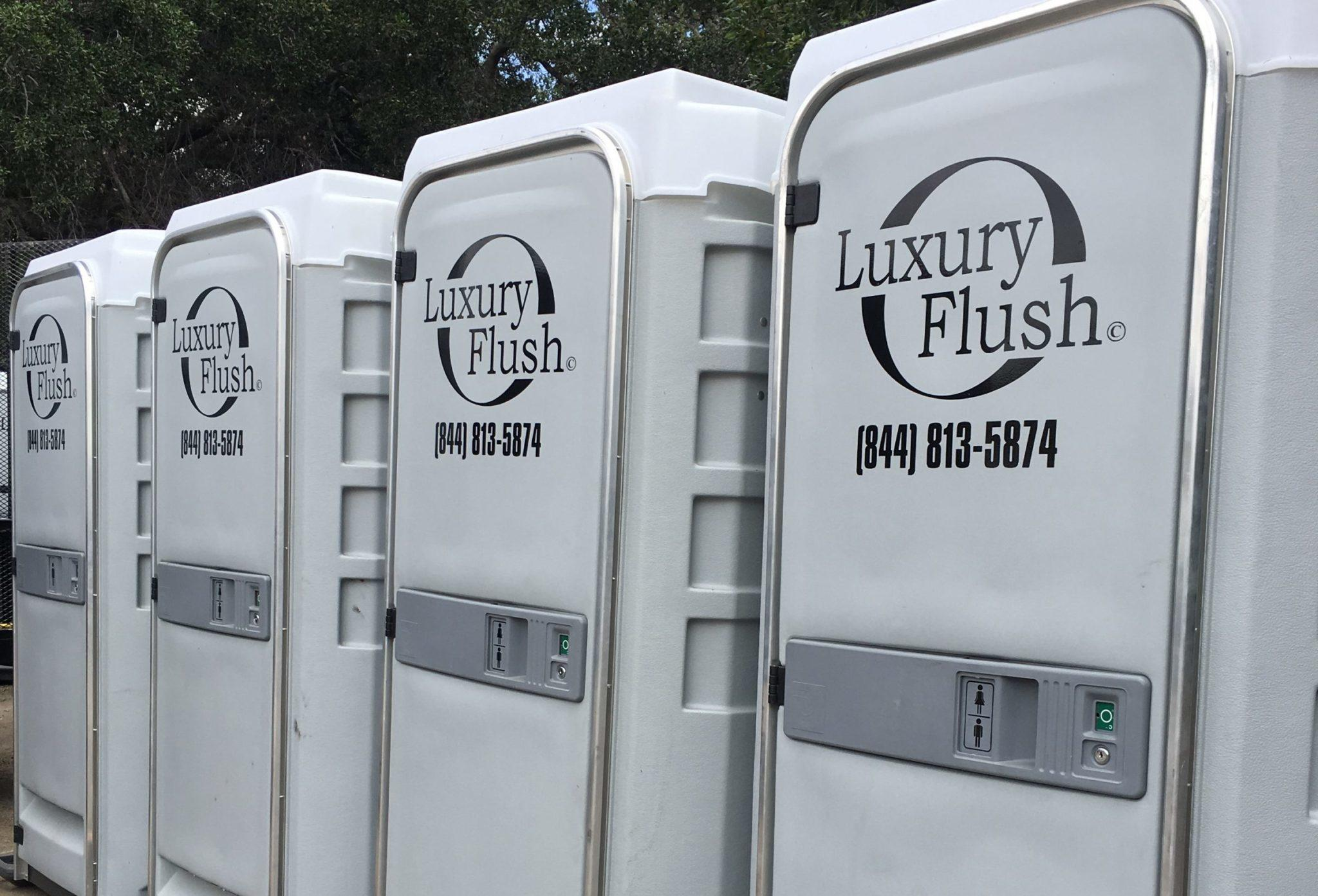 Flushable Porta John nice porta potty rental construction