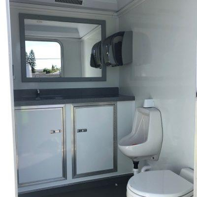 ADA Handicap Accessible Portable Restroom Trailer nice porta potty rental