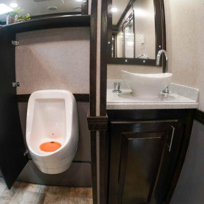 10 Station Elegant Portable Restroom Trailer