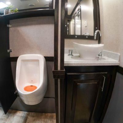 10 Station Elegant Portable Restroom Trailer