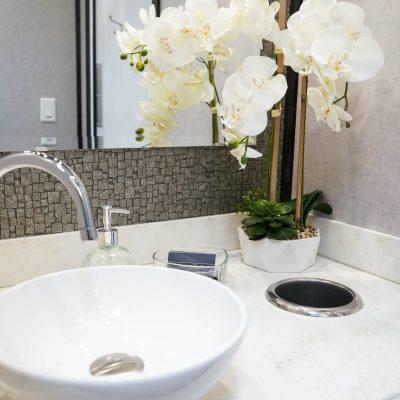 2 Station Elegant Portable Restroom Trailer
