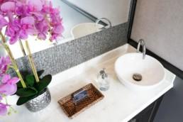 5 Station Portable Restroom Trailer nice porta potty rental