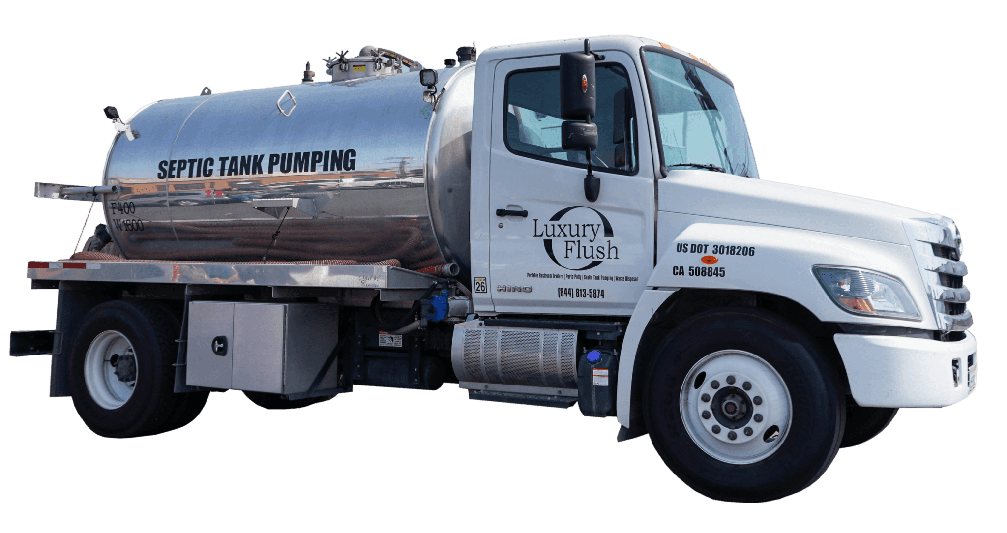 Septic Tank Pump Truck
