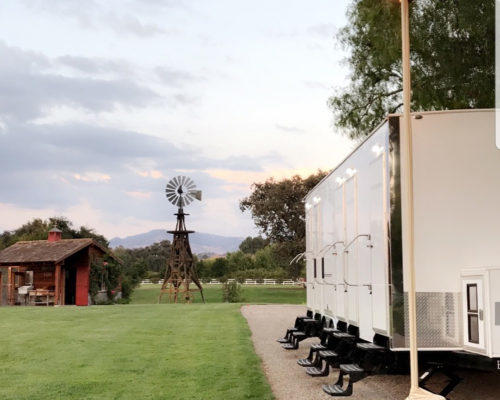 Portable Restroom Trailer Wedding nice porta potty rental
