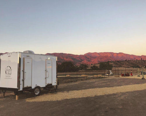 Portable Restroom Trailer Ojai Event nice porta potty rental