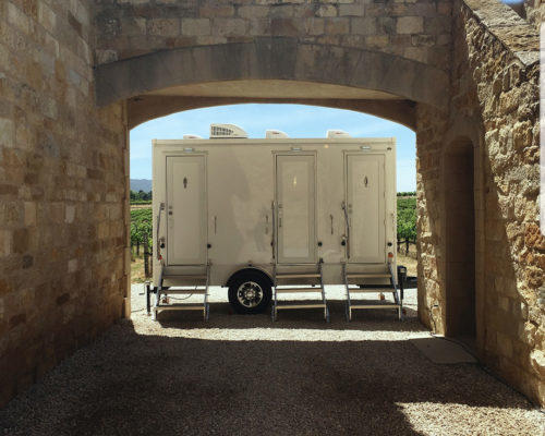 Portable Restroom Trailer Winery nice porta potty rental for wedding